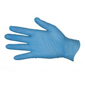 RCR Nitrile Blue Gloves