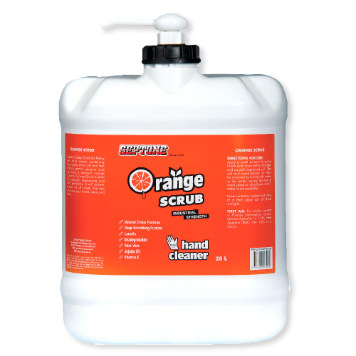 Septone Orange Scrub Hand Cleaner